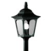 Elstead Chapel Mini CPM5 Exterior Black Pillar Lantern